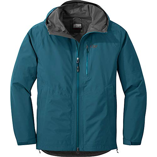 Outdoor Research Men's Foray Jacket, Peacock, Small