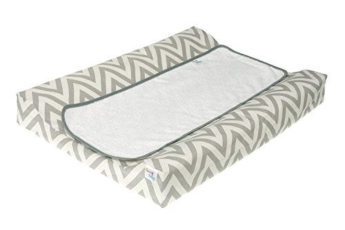 Belino 617659 - Cambiador plastificado, 48 x 70 cm, color Chevron (Gris)
