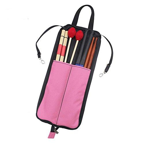 Drum-stick-tas, draagbare drum-stick-opberg-hangtas drumstick-handtashouder met handgreep