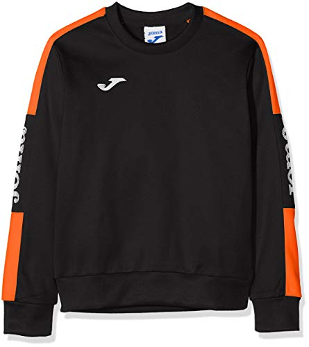 Joma Championship IV Sweater Homme, Noir/Orange, XXS