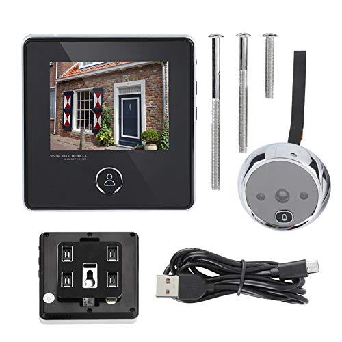 WOUPY Cámara de Video para Puerta, Visor de Puerta multifunción granangular de 120 ° para el hogar para Apartamentos