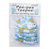 Pee-Pee Teepee Rubber Ducky Blue - Cello Bag