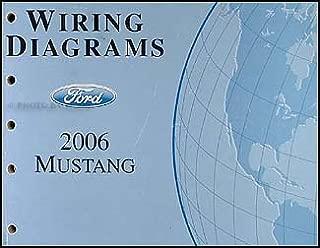 2006 Ford Mustang Wiring Diagram Manual Original