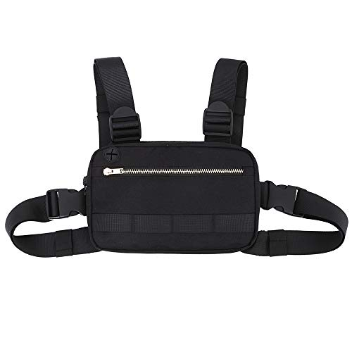 Outdoor Sports Chest Bag Tactical Chest Bag Leisure Running Bag Chest Gear Bag Men#039s and Women#039s Equipment Chest Bag Suitable for Outdoor Hiking and Mountaineering