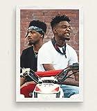 MKmd-s Poster Wanddekoration Savage Rap Musik Star Hip Hop