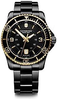 Victorinox - Hombre Maverick Large - Reloj de Acero Inoxidable de Cuarzo analógico de fabricación Suiza 241884