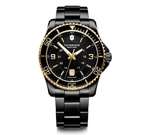 Relógio Victorinox Masculino Preto - VSA Maverick - 241884