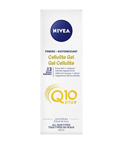 Nivea Firming CELLULITE GEL PLUS Q10 L-Carnitine 200 ml (6.8 fl oz) Made in France