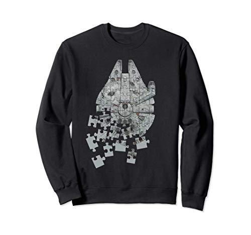 Star Wars Millennium Falcon Puzzle Sudadera
