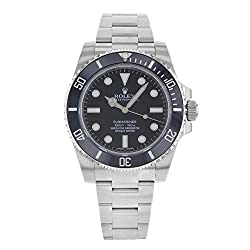 Rolex Submariner Black Dial Stainless Steel Automatic Mens Watch 114060