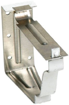 AMERIMAX HOME PRODUCTS 25022-NORTH 5-Inch Fascia Bracket, White, 2-Piece by Amerimax Home Products