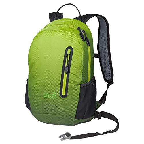 Jack Wolfskin Halo 12 Pack Fahrrad Wander Rucksack, Aurora Lime, ONE Size