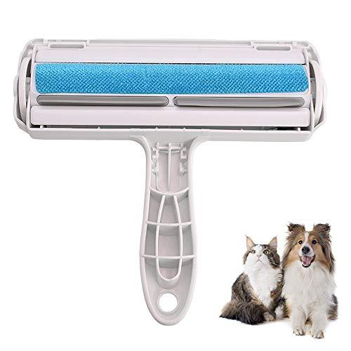 NIWWIN Rodillo removedor de Pelo para Mascotas para Muebles, Cepillo de Limpieza Reutilizable para Perros y Gatos, removedor de Pelusa autolimpiante para alfombras, Ropa de Cama