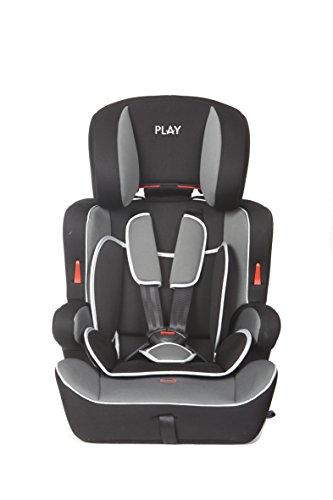 Casualplay Safe Ten - Silla de coche grupo 1/2/3, color negro y...