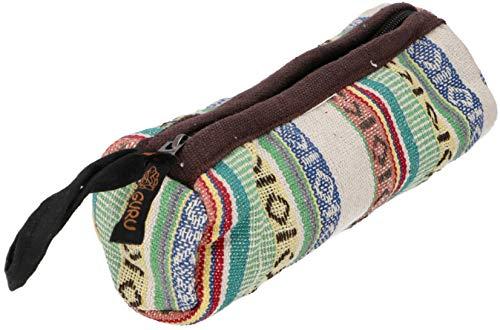 GURU SHOP Große Stifttasche Ethno, Federmäppchen - Modell 2, Herren/Damen, Mehrfarbig, Baumwolle, Size:One Size, 7x7 cm, Stifttaschen & Tabakbeutel
