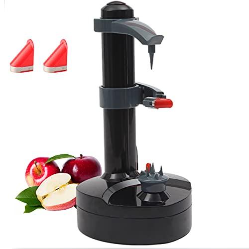Electric Fruit Apple Potato Peeler, Multifunctional Stainless...