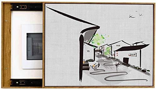SHILONG Caja Eléctrica Medidor De Pintura Decorativa Puerta DE MEDIDOR Módulo De Cavidad De Gas Caja De Distribución Caja Caja Decorativa Blindaje Caja De Fusibles La Caja De Fusibles