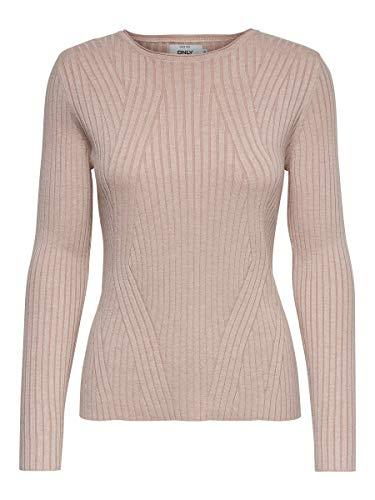 ONLY Female Pullover Langärmeliger Print MRose Smoke