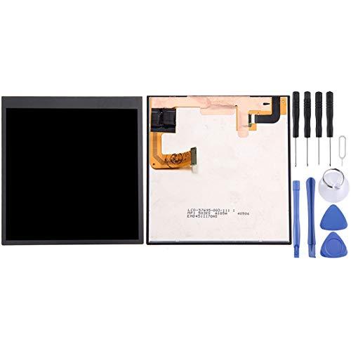 ASAMOAH Handy-Ersatzteil LCD-Bildschirm und Digitizer Vollmontage für BlackBerry Passport Silver Edition Telefon Zubehör