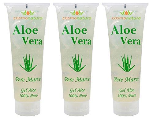 Natura Canaria Aloe Vera Gel 100% Tube 250ml x 3 Stück