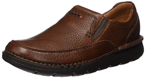 Clarks Herren Unnature Easy Slipper, Braun (Brown Leather), 39.5 EU