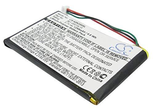 Batteria GPS Garmin Nuvi 200, Nuvi 200w, Nuvi 205, 205T, Nuvi 205W, Nuvi 250, Nuv, Li-pl, 1250 mAh