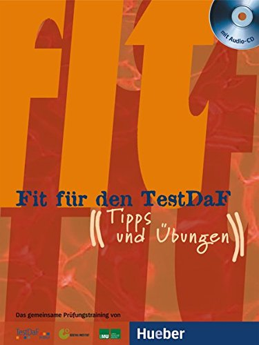 Fit fur den TestDaF: Pack - Ubungsbuch, Losungsheft & 2 CDs