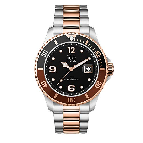 Ice-Watch - ICE Steel Chic Silver Rose-Gold - herenhorloge met metalen armband - 016548 (breedte)