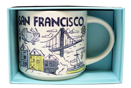 Starbucks Been There Serie San Francisco Becher, 400 ml