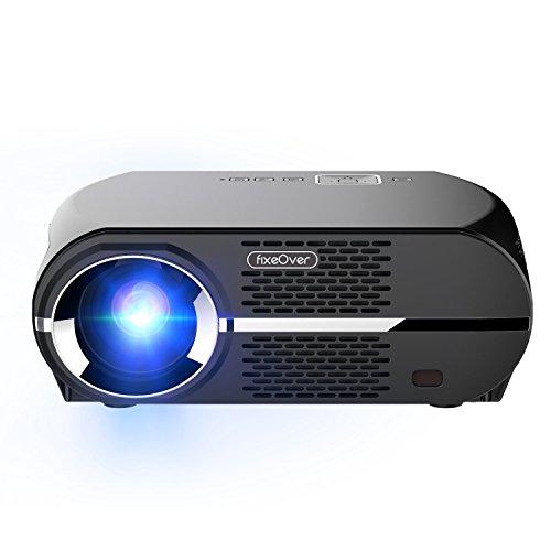 ViviBright GP100 Video Proyector, LED 1080P Full-HD Gran Calidad de Imagen,3500 Lumens LED Luminosidad Eficiente , Resolución WXGA ,...