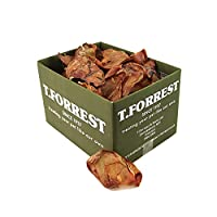 NO NASTIES & PRODUCED IN THE UK - 100% Natural dried healthy dog treats, no additives, produced in the UK. You can treat your dog worry free, our high quality pigs ears are not imported. GREAT FOR DENTAL HYGIENE - These pigs ears will help to promote...