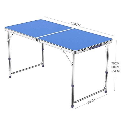 N/Z Daily Equipment Garden Compact Foldable Table and Chair Portable Folding Catering Camping Trestle Picnic Garden Patio BBQ Party Table C (Color : C)