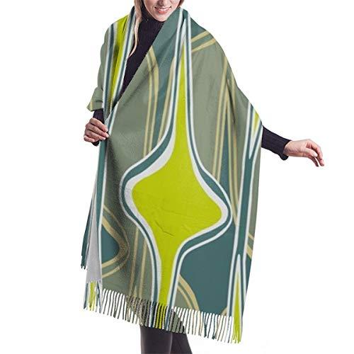 Bufanda de invierno clásica de otoño para mujer, tapices de pared, repetición...