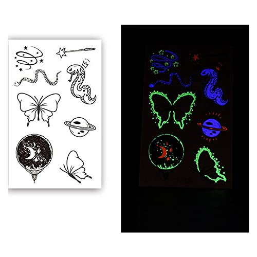 Hollywood Luminous Rapid rise Tattoo Sticker Indicat Headset Volume Sales Speaker