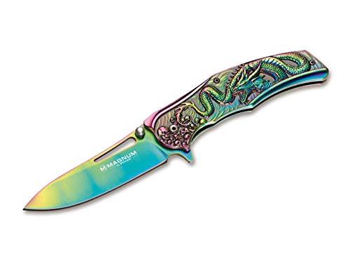 Magnum 01RY200 zakmes Rainbow Dragon, lemmetlengte: 9,8 cm, meerkleurig
