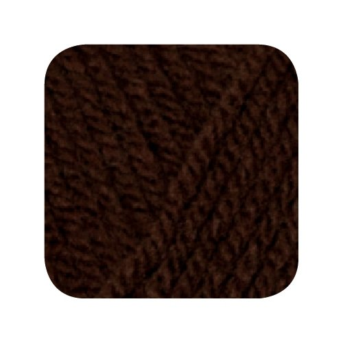 Hatnut XL 55 / Farbe 10 - dunkelbraun (Wolle)
