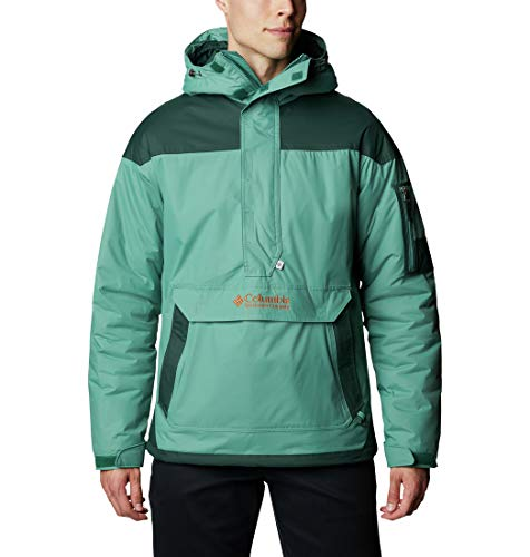 Columbia Challenger Veste Pullover Homme, Vert (Thyme Green, Spruce), Taille XXS