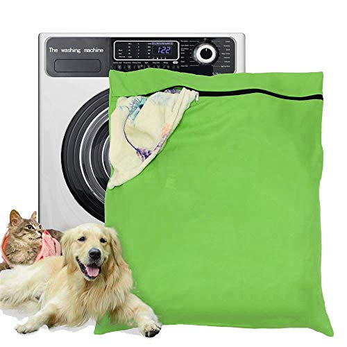 Booding Petwear Wäschebeutel,Haustier-Wäschesack, Haustierhaare, Haustierwäsche, Waschbeutel für Waschmaschine mit für Haustier-Bettwäsche, Decken, Handtücher