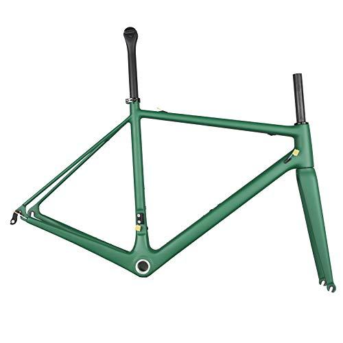 GONGJU New DI2 Serie Rennrad Carbon-Rahmen,UD Matte 56cm BB30