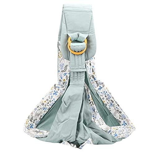 Portabebés Boba Wrap, portabebés elástico envuelve eslingas para bebés, portabebés para bebés, correas para bebés para recién nacidos de 0 a 36 meses(Green Fawn (Four Seasons))