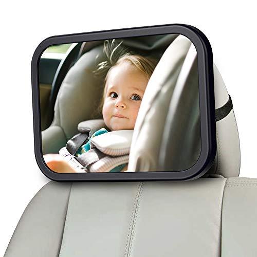 MONOJOY Rücksitzspiegel, Spiegel Auto Baby, Rückspiegel Baby Autospiegel Baby Autospiegel für rücksitz, Rücksitzspiegel fürs Baby Sicherheit Babyschalen Kinderschale, Kindersitz, Babysitz, Reboarder