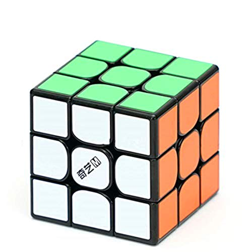 CuberSpeed QiYi MS 3x3 Magnetic Black Speed Cube Qiyi Mofangge M 3x3x3 Magic...