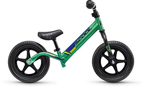 Laufrad S'COOL pedeX Race Light - Green/Black
