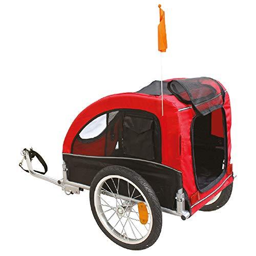 CROCI Pratique Roulotte de Vélo pour Chien 74 x 128 x 103 cm