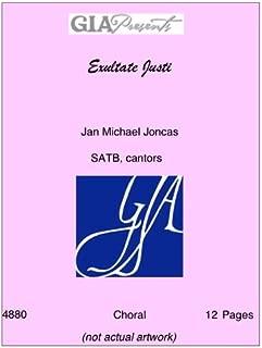 Exultate Justi - Jan Michael Joncas - SATB, cantors