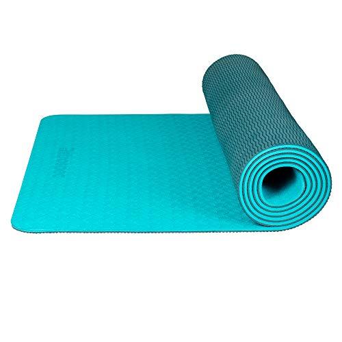 Retrospec Zuma Yoga Mat for Men & Women - Non Slip Excercise Mat for Yoga, Pilates, Stretching, Floor & Fitness Workouts, 3602