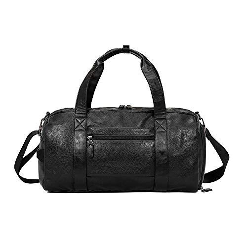 Ofgcfbvxd Molletons de Sport Sac Voyage en Plein air Fitness Bag Sac Voyage Portable de Grande capacité Sacs de Sport Grand Format (Color : Black, Size : One Size)