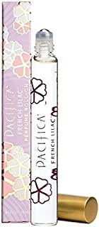 Pacifica Beauty French Lilac Roll-On Perfume, Made with Natural & Essential Oils, 0.33 Fl Oz