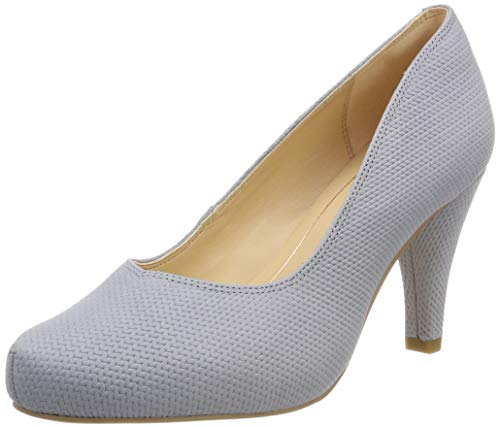 Clarks Damen Dalia Rose Pumps, Grau (Grey/Blue), 39 EU