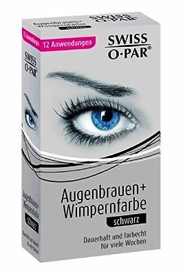 Swiss-O-Par Augenbrauen und Wimpernfarbe